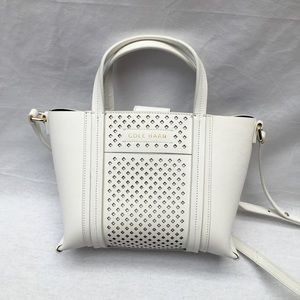 Brand new Cole Haan white genuine leather Purse
